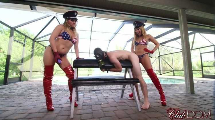 British Femdom Download Mickey & Kelly Happy 4th Strapon Outdoors Pegging - Greatest Fetish Video Collection
