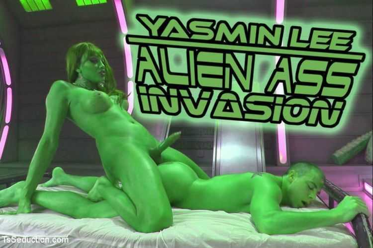 Close Encounters of a Kinky Kind- Yasmin Lee Alien Ass Invasion!