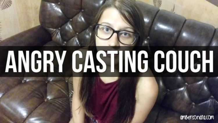 amber sonata casting couch angry sex man