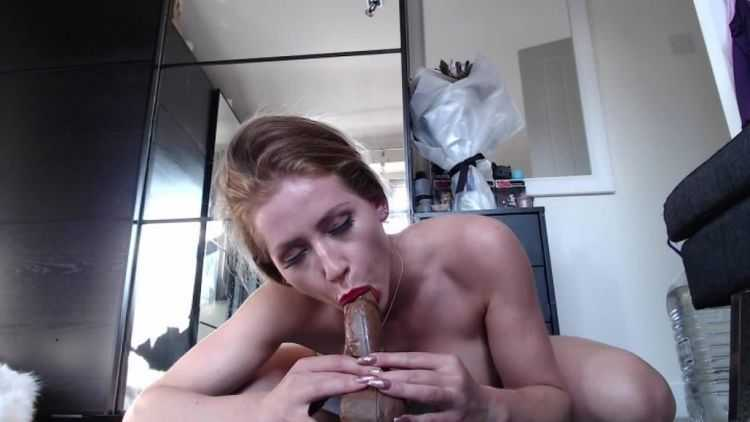 anastasiaxxx89 8quot chocolate cock fun