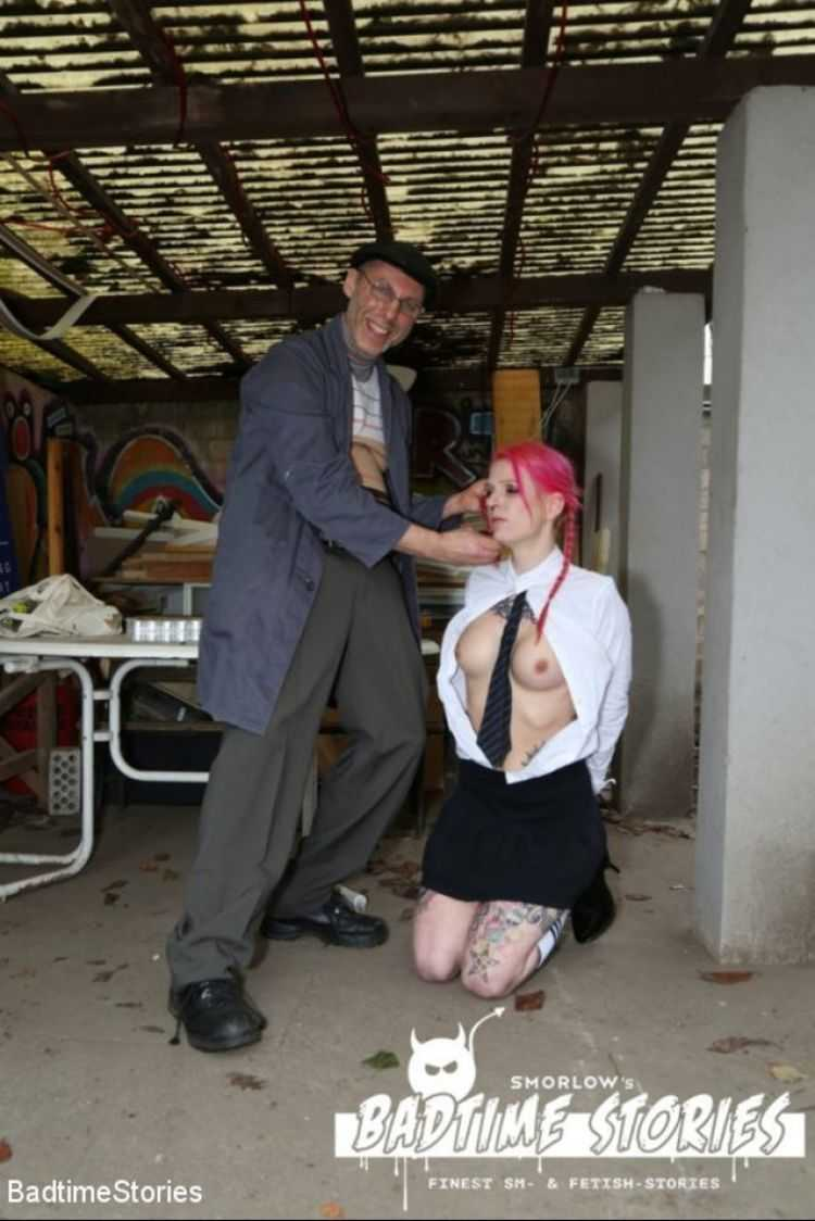 German Babe Bound and Tormented by Master and Dominatrix