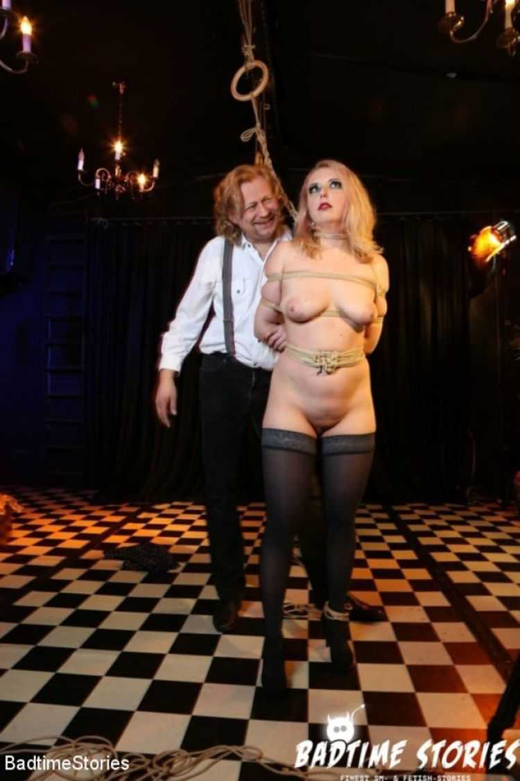 Obedient German Slave Tied and Tormented in Intense BDSM: Part 1