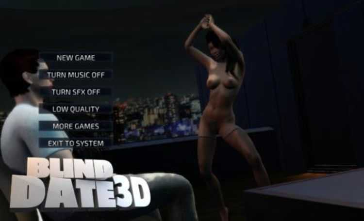 LESSON OF PASSION – BLIND DATE 3D GAME ENG