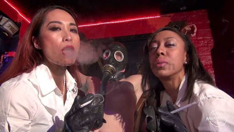 The Smoking Leather Ladies