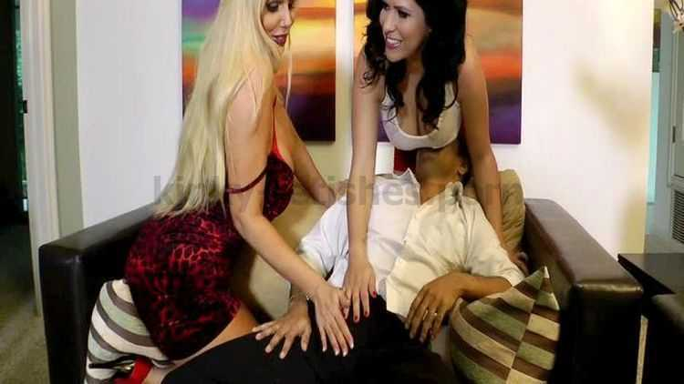 Karen Fisher and Lacie James from Handjob Harlots 3