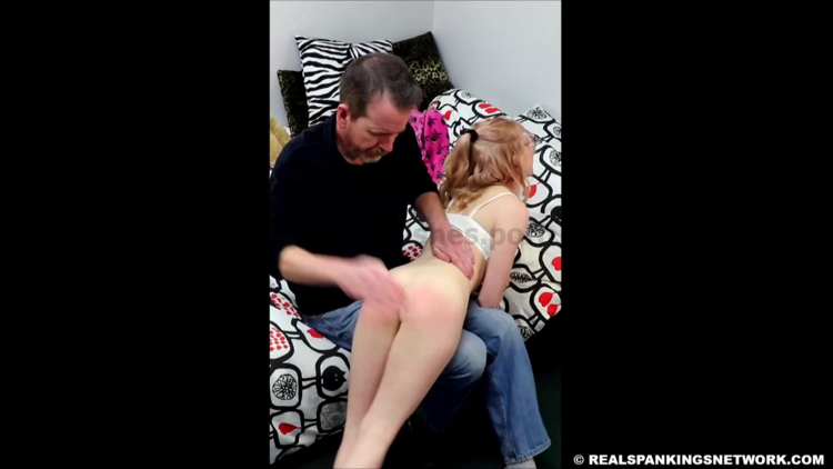 Real Spankings – MP4/Full HD – Alice Films Her Spanking  | March 18, 2019